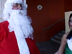 Non-Professional brownie playgirl fucking santas hard pole