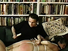 Sweetheart foams at the mouth when bound and gagged