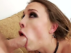 Hardcore anal at its best. Staring porn star Chanel Preston and Mark Wood. Watch this sexy brunettes face as this man with a big cock slips squarely deep into her tight ass hole. You just know she is loving every support of it.