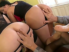 Perverted old man is out-of-pocket expenses cool time with Abbie Cat added to Natasha Brill. He is licking tight anal holes of chicks one by one before getting nice fellatio non-native them.