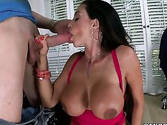 Chachita Ariella Ferrera with big booty gets cum soaked in crazy cumshot chapter