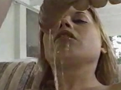 Sloppy scruffy blowjob and facefuck